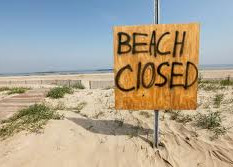 Beaches Closed.....Southport and Ainsdale