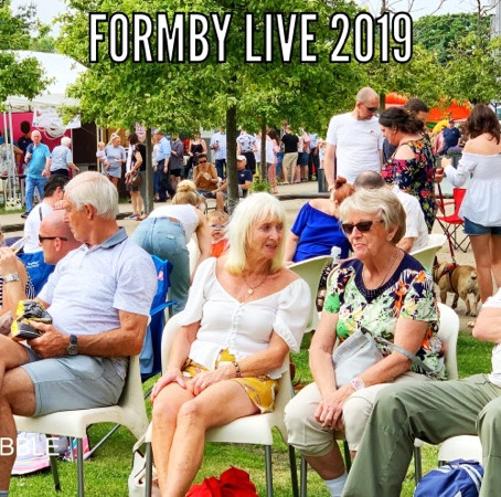 A great start to Formby Live and still on tomorrow Sunday 30th June