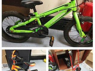 Appeal to find rightful owners of these bikes and scooters