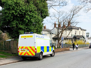 Mayhem and disturbance caused by youths in Formby Village when several cars were damaged