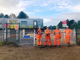 Fisherman's Path level crossing is now OPEN with new zigzag safety approach complete