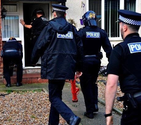 Merseyside Police arrested 13 people and seized drugs and cash during a day of activity in Sefton