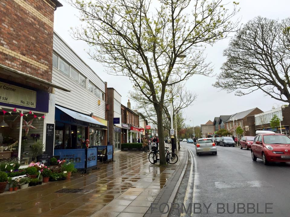 Formby Village on a wet day in May 2015.jpg