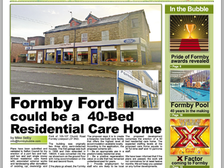 The Formby Bubble newspaper is now FREE from Issue 3 - OUT TOMORROW