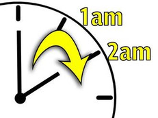 Don't Forget to put Your Clocks Forward - 1am