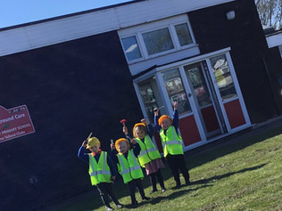 Work has begun on the new purposely designed nursery building & outdoor area at Redgate Primary