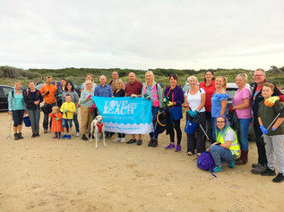 New group, Formby and Freshfield Beach Litter Angels gets huge support from the community