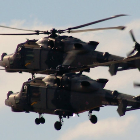 Watch out for some iconic military helicopters this week doing training exercises from Altcar