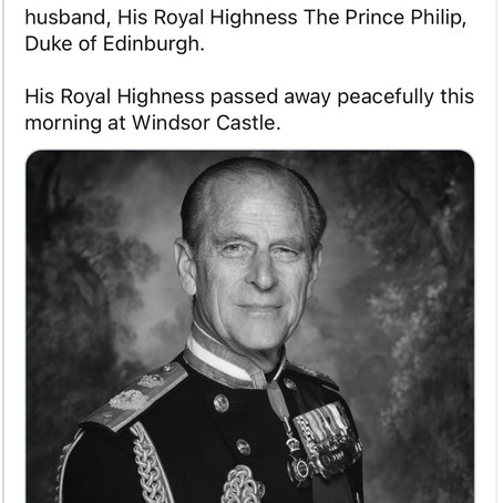 Prince Philip, husband of Queen Elizabeth II, passes away at age 99 but what happens now?