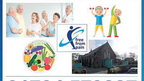 Free From Pain 12 week exercise programme for over 60s to improve balance and decrease pain