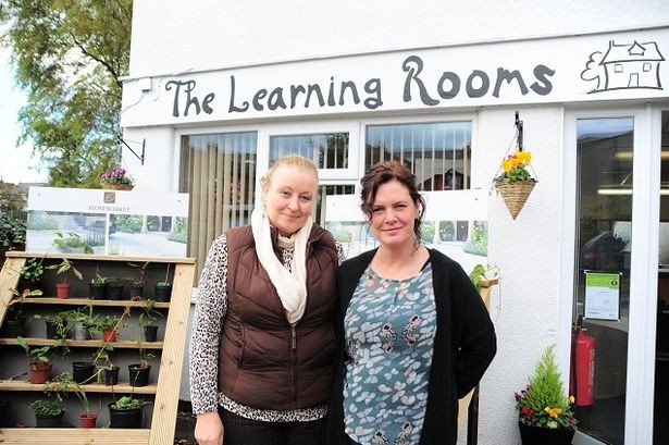 Amanda Doyle (Left) and Ruth Wareing (Right) at the Learning Rooms in Southport.