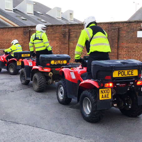 Officers on quads take to the streets in Sefton as part of #OpTarget