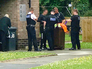 Merseyside Police arrested a man in Formby today for three separate offences