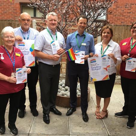 LBGT+ Support at Southport & Ormskirk hospitals NHS Trust