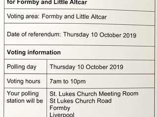 Referendum on the Neighbourhood Plan for Formby and Little Altcar - What's it all about? What sh