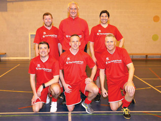 Liverpool FC striker Ian Rush turns out for Formby five-a-side