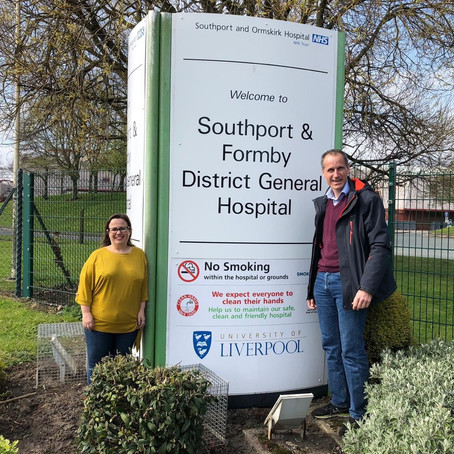 MP welcomes new chief exec to Southport and Formby NHS Trust