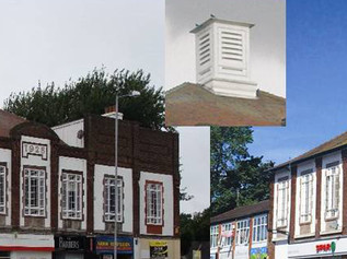 Historic Roof Lantern destroyed on Embassy Buildings in Formby's only conservation area