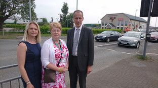 MP and councillors secure safety improvement at new FormbyMcDonald's junction