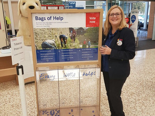 Redgate garden project is shortlisted in Tesco's 'Bags of help' initiative - Please vote