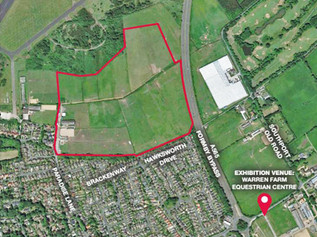 Public meeting about Taylor Wimpey plans for 286 dwellings at Brackenway in Formby