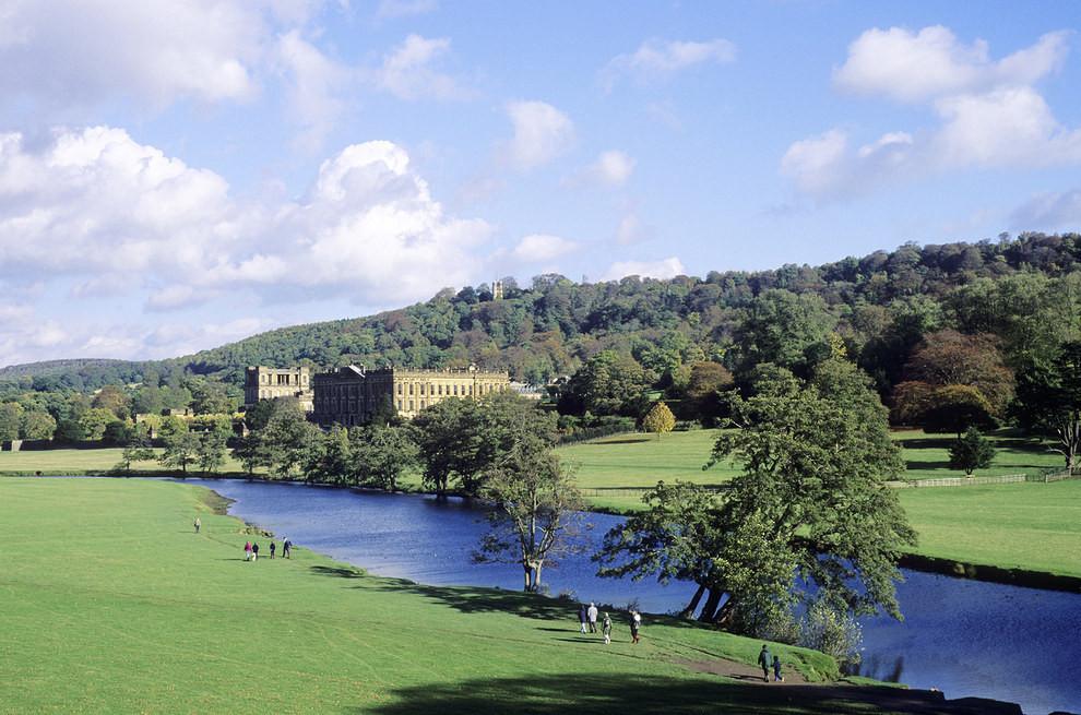 Chatsworth House and Garden, Derbyshire.jpg