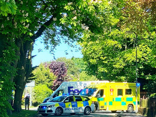 Piercefield Road in Formby is currently closed in both directions due to an RTC