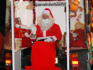 Formby Rotary Club Santa Wagon starts it's rounds on Sunday 1st December