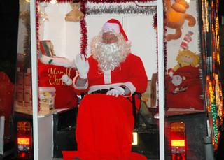 Formby Rotary Club Santa Wagon starts it's rounds on Sunday 1st December