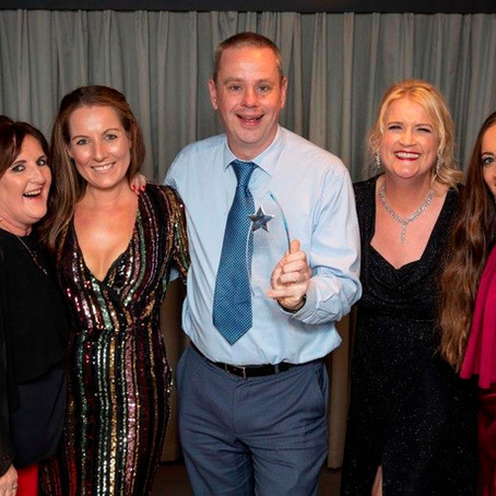 NHS Staff celebrate in Time to Shine Awards