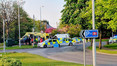 Air Ambulance called to two young boys injured in a collision in Formby