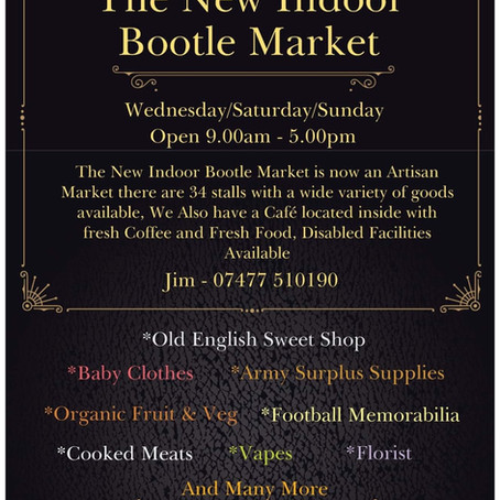 New Indoor Bootle Market opens this Saturday
