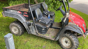 Police recovered a Gator in Lydiate which had been stolen from an equestrian centre