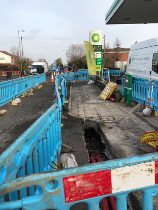Roadworks on Liverpool Road in Formby causing huge traffic delays are set to stay until 7th March