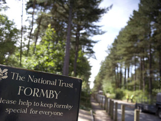 National Trust Formby expected to be very busy today
