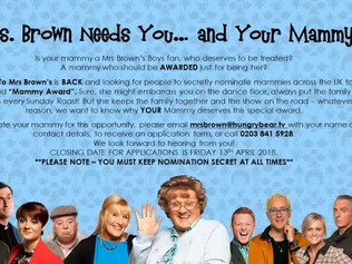 TV production company looking for Formby Mums - Mrs Brown Needs You... and Your Mammy!
