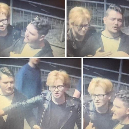 Police appeal to find two males to assist an investigation into an assault in Waterloo