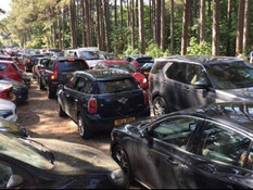 Fixed penalty notices issued and over 100 cars turned away following large crowds at Formby beach