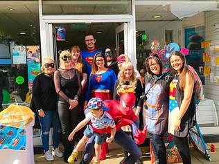 Rowlands Pharmacy held a Superhero Day and Spiderman wowed the crowds