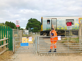 Fishermans Path Level Crossing will remain closed for 3 weeks from Saturday