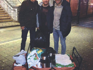 Formby businessman and ex-footballer is now helping the homeless in Liverpool