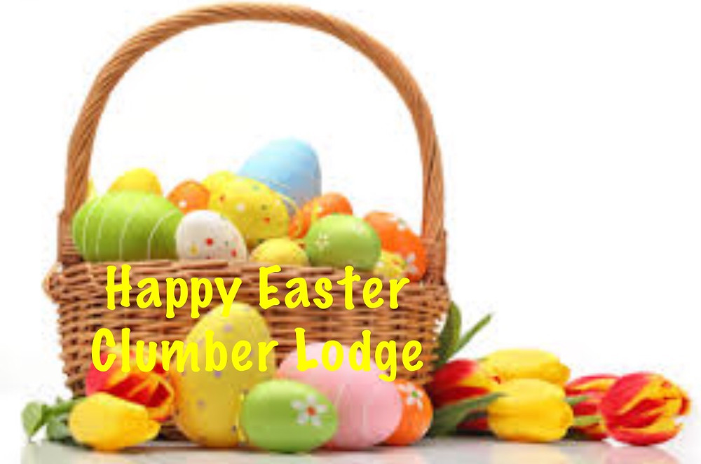 Happy Easter Clumber Lodge.JPG