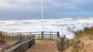 Due to high winds and high spring tides, you are advised to stay away from Sefton coast today