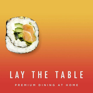 Use our promo code to get FREE delivery this weekend from new food delivery service Lay The Table