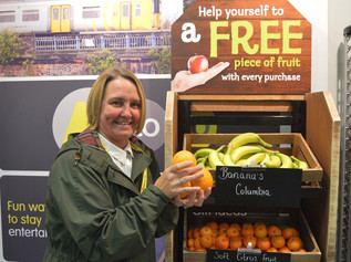 Merseyrail goes bananas with a fruity surprise for its passengers