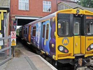 Train terminated at Formby 7.07am