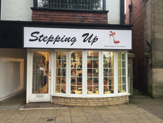 A new Shoe Shop opens in the Village - Stepping Up