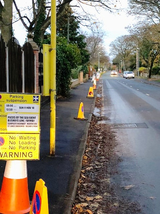 Thousands of people are expected to descend on Formby tomorrow morning so council restrictions are n