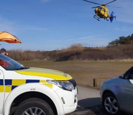 Multiple Emergency Services called to Lifeboat Road after reports of a person in the water