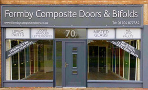 A new shop has opened in our Bubble called Formby Composite Doors & Bifolds
